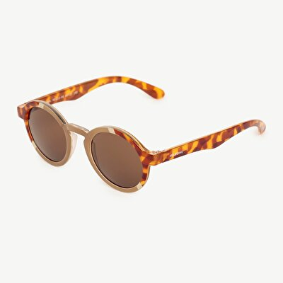 Mr. Boho Tortoiseshell rounded Sunglasses