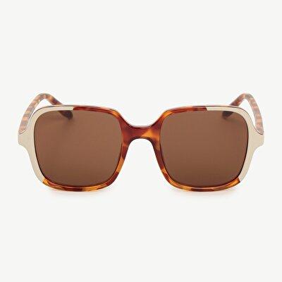 Mr. Boho 2 Renkli Dikdörtgen Güneş Gözlüğü