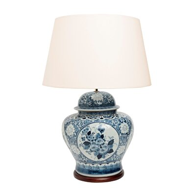 Table Lamp - Blue Blanc (52x74cm)