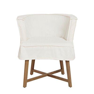 Fabric Armchair ( 54x57x74 Cm )