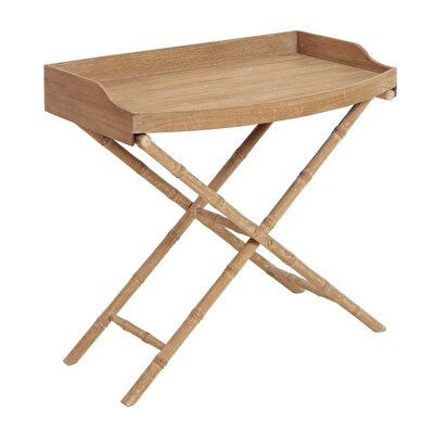 Side Table With Single Tray ( 48 X 80 X 75 Cm )