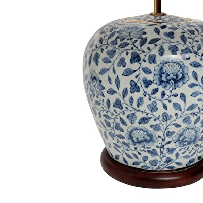 Table Lamp - Blue Blanc (46x57cm)