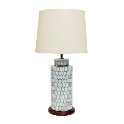 Table Lamp - Blue Blanc (30x59cm)