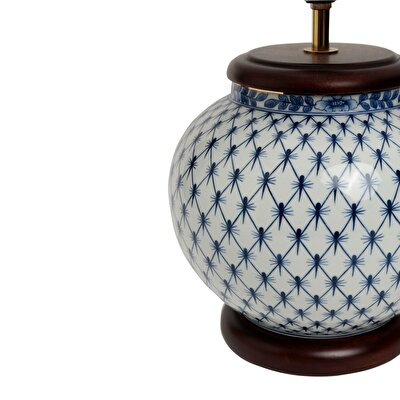 Table Lamp - Blue Blanc (32x51cm)