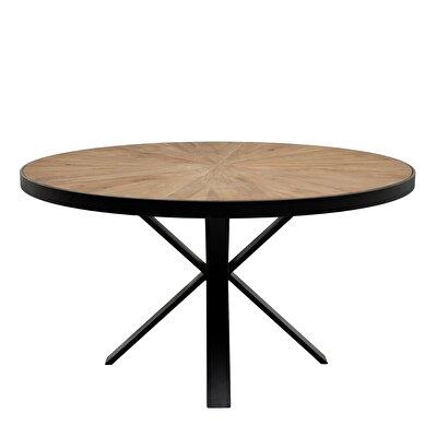 Runder Tisch Mit Metallfuss
