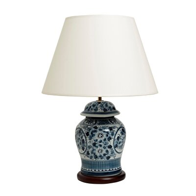 Table Lamp -  Blue Blanc (41x57cm)