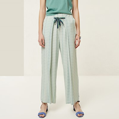 Tie Detailed Trouser