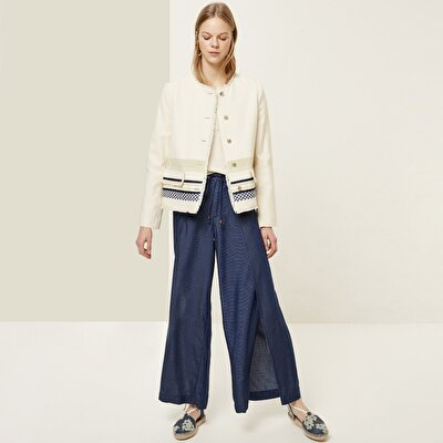 Slit Detailed Trousers