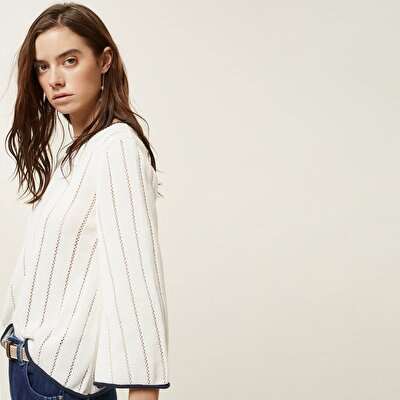 Stripe Detailed Knitwear