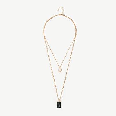 Halskette Mit Steindetail