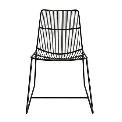 Stuhl aus Metall ( 59 x 55 x 84 cm )