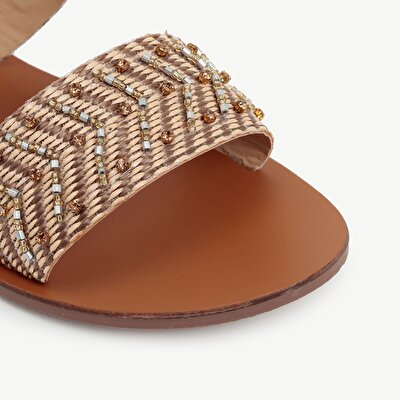Beaded Slipper