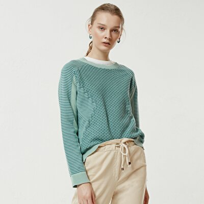 Jaquard Long Sleeve Knitwear