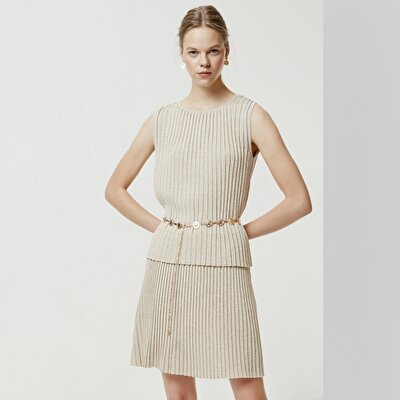 Pleated Knitwear