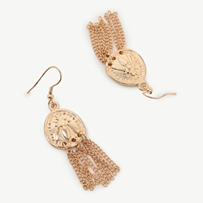 Earrings With Antique Look And Tassels