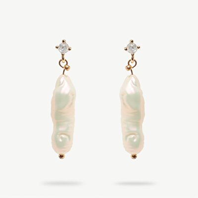 Earrings With Real Pearls
