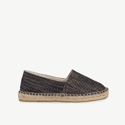 SliP-On Espadrille With Glitter Blended Fabric