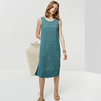 Sleeveless Knitwear Dress