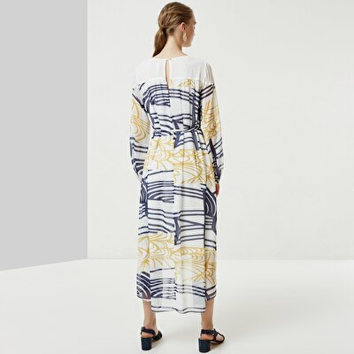 Tunnel Detailed Long Dress