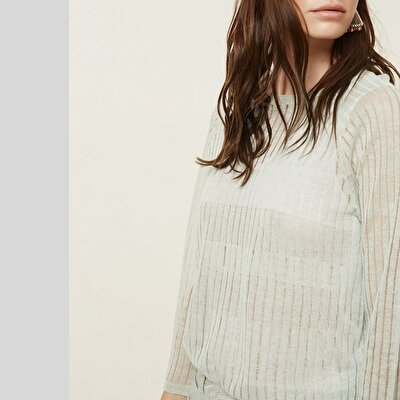 Crew Neck Long Sleeve Knitwear