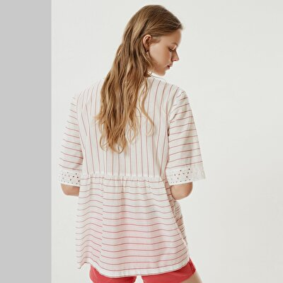 Pintuck Detailed Tunic