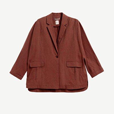 Single Button Jacket