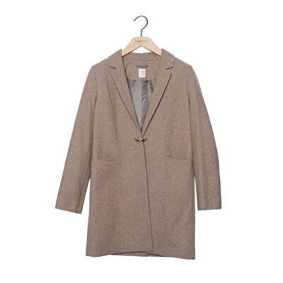 Toka Detaylı Palto