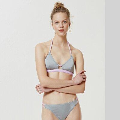 Bant Detaylı Bikini Alt