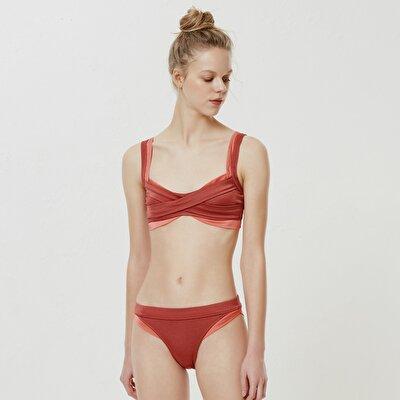 İki Renkli Bikini Alt