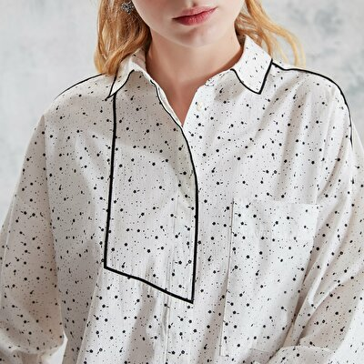 Embroidery Detailed Shirt