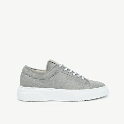 Pony Leather Sneaker With Contrast Lining