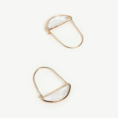 Earrings in Geometrical Shape