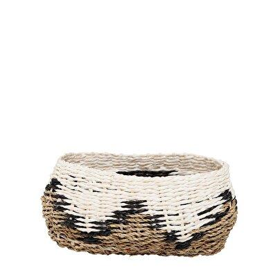 Rattan Basket ( 12,5 X 23 X 11 Cm )