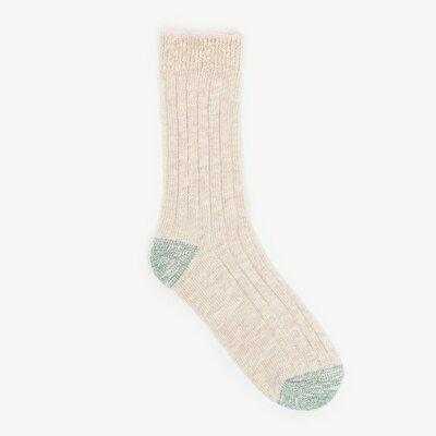 Bileği Sim Detaylı Kalın Çorap