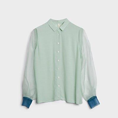 Manşet Detaylı Gömlek